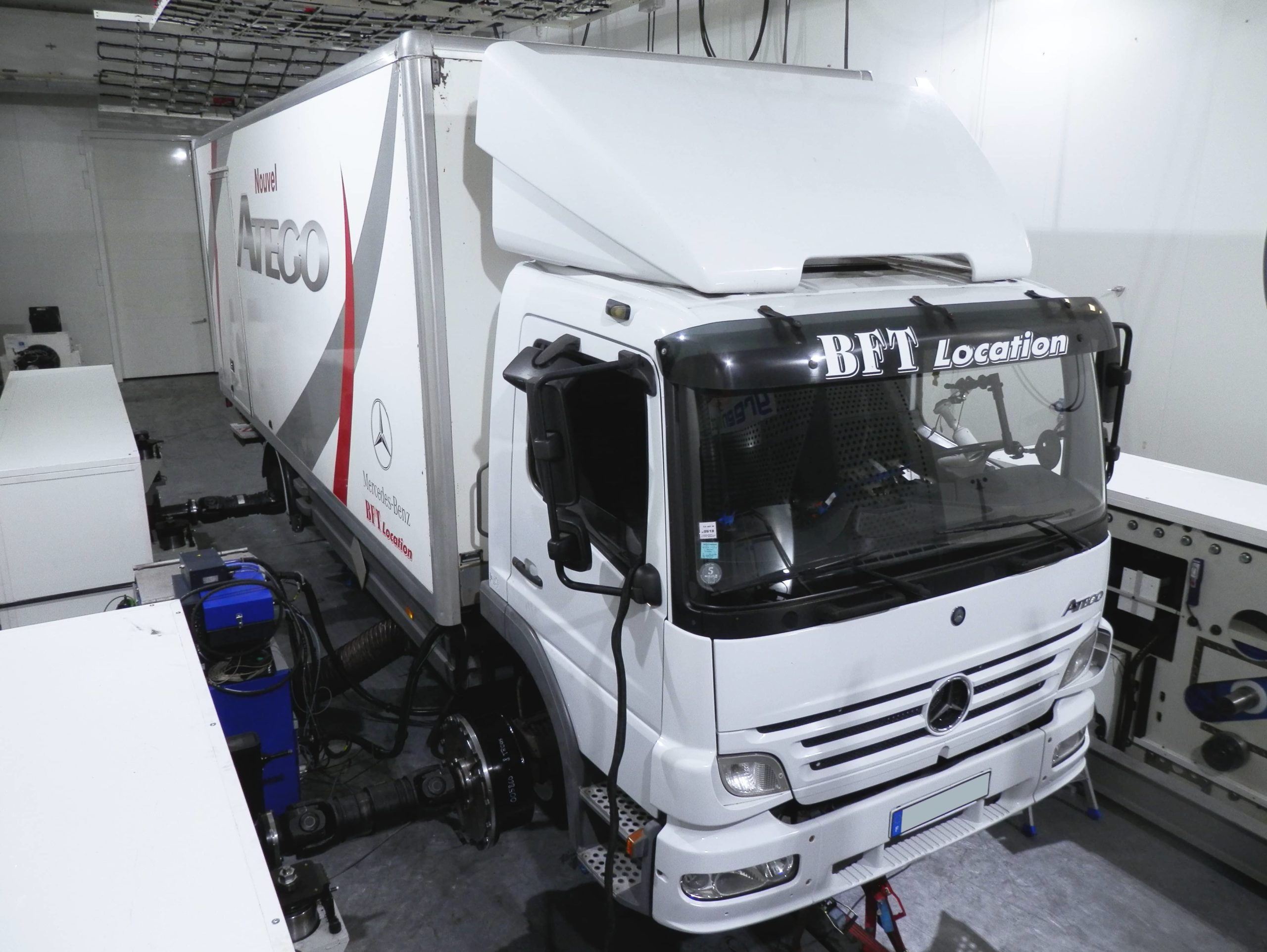 Truck hvo test pollution consumption