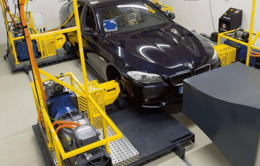 Greenmot automotive test cell