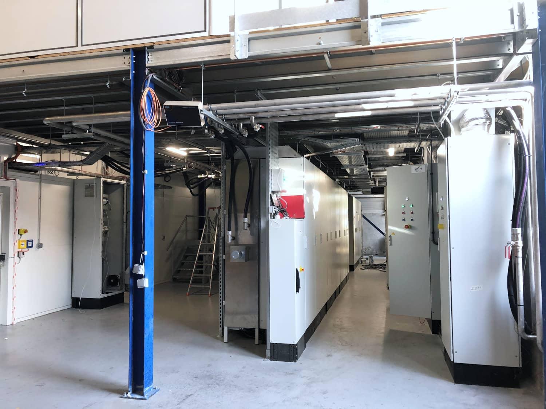 Siemens electrical installation