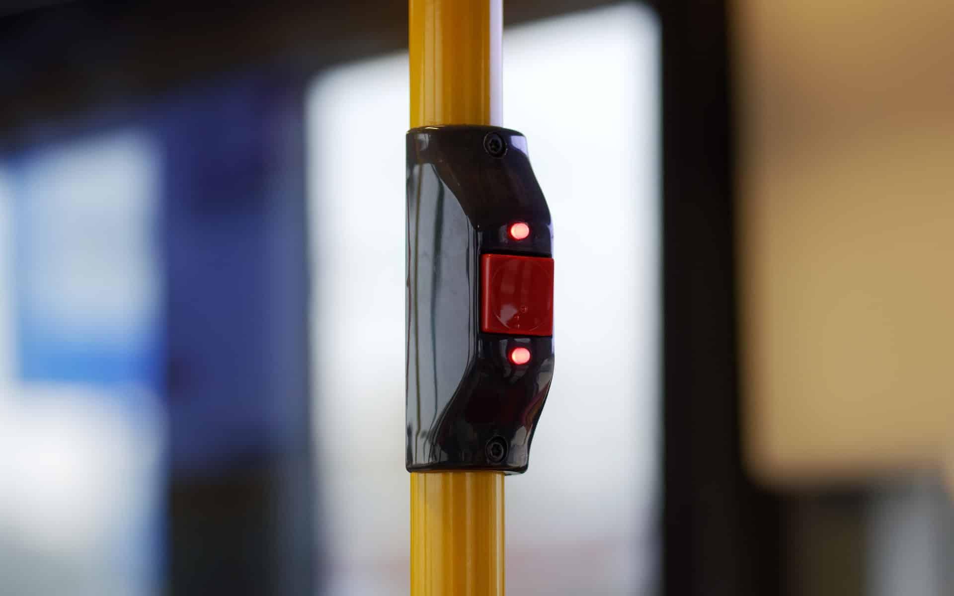 bouton appel bus